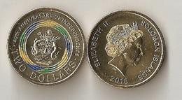 Solomon Islands - 2 Dollars 2018 UNC Lemberg-Zp - Isole Salomon