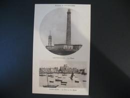 Carte Environs De Cherbourg  Gatteville - Le Phare  Barfleur - Le Port Et Les Quais - Barfleur