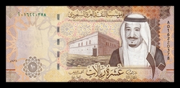 Arabia Saudi 10 Riyals 2016 Pick 39a SC UNC - Arabie Saoudite