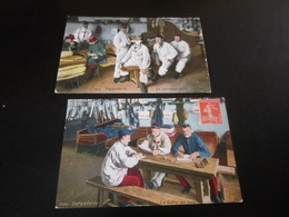 LOT DE 29 CPA COLORISEES  / LA VIE A LA CASERNE / MILITARIA - 5 - 99 Cartes