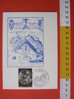 A.14 ITALIA ANNULLO 2005 GRAGLIA BIELLA SACRO MONTE RELIGIONE CRISTO MADONNA NELLA FILATELIA MARIA GERUSALEMME MAXIMUM - Cristianesimo