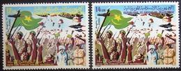 MAURITANIE                      N° 452/453                      NEUF** - Mauritanie (1960-...)