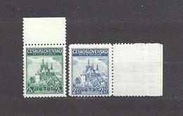 Czechoslovakia 1937 MNH ** Mi 375-376 Sc 230-231 Little Entente. Kleine Entende. Tschechoslowakei C1 - Ungebraucht