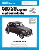 """REVUE TECHNIQUE Automobile - CITROËN """"2CV"""" - Auto/Moto"""