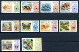 Samoa MiNr. 262-71 Postfrisch MNH Einheimische Tiere (R6091 - Samoa (Staat)