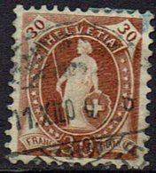 Schweiz, 1862, MiNr 60c, Gestempelt - Gebraucht