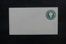 INDE / PATIALA - Entier Postal Type Victoria Surchargé Puttialla State , Non Voyagé - L 53353 - Patiala