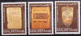 MAURITANIE                      N° 524/526                     NEUF** - Mauritanie (1960-...)