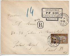 SPM : Cachet ' PP 0 30 ' En Complément D'une Lettre Recommandée De 1926 - St.Pierre Et Miquelon