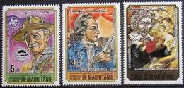 MAURITANIE                      N° 538/540                     NEUF** - Mauritanie (1960-...)
