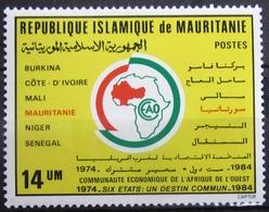 MAURITANIE                      N° 556                     NEUF** - Mauritanie (1960-...)