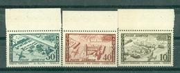 MAROC - PA N° 94** MNH Et 96** MNH Et 97** MNH  SCAN DU VERSO LUXE BORD DE FEEUILLE - Maroc (1956-...)