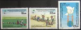 MAURITANIE                      N° 572/574                     NEUF** - Mauritanie (1960-...)