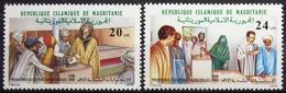 MAURITANIE                      N° 609/610                     NEUF** - Mauritanie (1960-...)