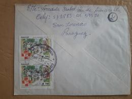 Enveloppe Du Paraguay Envoyée En Argentine Avec Des Timbres Modernes - Paraguay