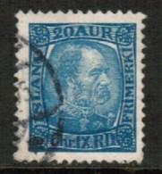 ICELAND  Scott # 40 VF USED (Stamp Scan # 593) - Usados