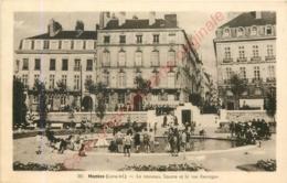 44.  NANTES .  Le Nouveau Square Et La Rue Kervigan . - Nantes