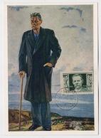 CARTE MAXIMUM CM Card USSR RUSSIA Literature Writer Maxim GORKY Art Painting - 1923-1991 URSS