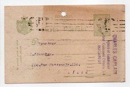 - CARTE POSTALE CHARLES CAPLAIN, BUCAREST Pour LILLE (France) 25.11.1920 - - Entiers Postaux