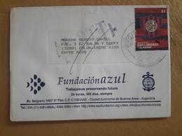 Enveloppe Argentine Distribuée Avec Le Timbre De San Lorenzo - Argentine