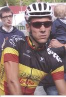 CYCLISME: CYCLISTE : SERIE COUPS DE PEDALES:PHILIPPE GILBERT - Cyclisme