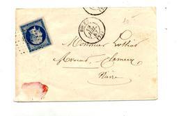 Lettre Cachet Losange Rouen Sur Napoleon - Marcophilie (Lettres)