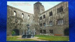 Linlithgow Palace Quadrangle Showing Inside Of Old Gateway Scotland - West Lothian
