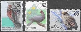 Japon - Oiseaux En Danger - Oblitérés - Lot 801 - Used Stamps