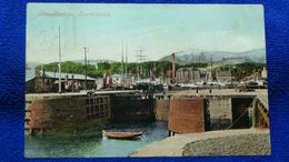 The Harbour Burntisland Scotland - Fife