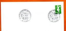 46 FIGEAC   ACFE UPPTT  1990 Lettre Entière N° DE 123 - Marcofilie (Brieven)