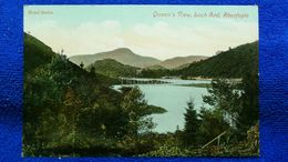 Queen's View, Loch Ard, Aberfoyle Scotland - Stirlingshire