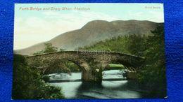 Forth Bridge And Craig Mhor Aberfoyle Scotland - Stirlingshire