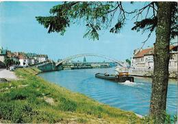 PONT SAINTE MAXENCE - Le Pont Sur L'Oise - Péniche - Pont Sainte Maxence
