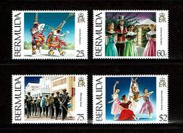 Bermuda 1994 Sc # 689 / 692  MNH **  Combey Dance  -   National Dance Company - Danse