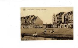 Coxyde-Bains - La Plage Et La Digue. - Koksijde