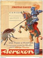 Ancien Protège Cahier Publicitaire Aeroxon - Animales