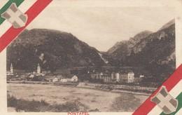 PONTAFEL-PONTEBBA-UDINE-CARTOLINA SCRITTA NON VIAGGIATA DATATA 18-12-1918 - Udine