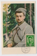 CARTE MAXIMUM CM Card USSR RUSSIA Art Painting Civil War LAZO Far East - 1923-1991 URSS