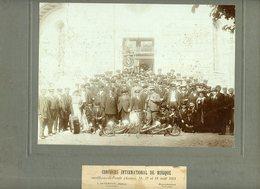 PHOTOGRAPHIE PAPIER SUR CARTON FORT. CHAUX-DE-FONDS SUISSE 1913 CONCOURS INTERNATIONAL DE MUSIQUE - Foto
