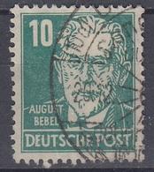 +M154. DDR 1949. Bebel. Michel 330. Used - Gebraucht