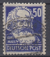 +M156. DDR 1949. Marx. Michel 337. Used - Gebraucht