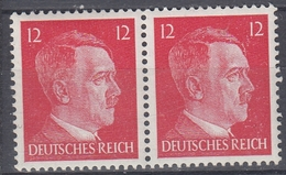 +M157. Germany 1941-44. Hitler. Pair. Michel 788. MNH(**) - Deutschland