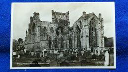 Melrose Abbey From S.E. Scotland - Berwickshire