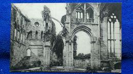 Melrose Abbey North Transept Scotland - Berwickshire