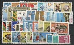 TURQUIE ANNEE COMPLETE 1983 Cote 63.1 € N° 2382 à 2420. 39 Timbres Neufs ** MNH. TB - Années Complètes