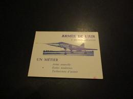 Calendrier De Poche 1967 - Armée De L'air - 2ème Région Aérienne - Luchtvaart