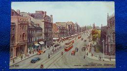 Princes Street From West Edinburgh Scotland - Midlothian/ Edinburgh