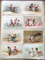 Album De Chromos Et Découpis. Plus De 550 Chromos, Environ 160 Liebig Dont Nombreuses Séries Complètes. - Albums & Catalogues