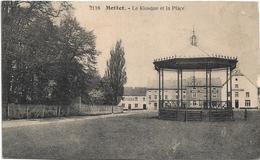 Mettet   *  Le Kiosque Et La Place - Mettet