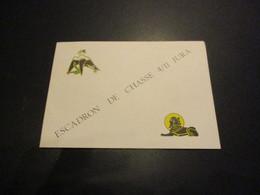 Carte à Volet ESCADRON DE CHASSE 4/11 JURA - Luchtvaart